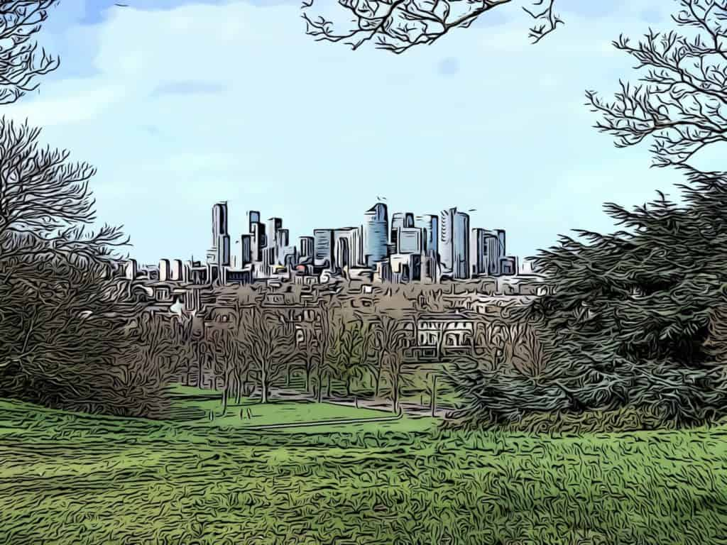 canary-wharf-view-greenwich-park