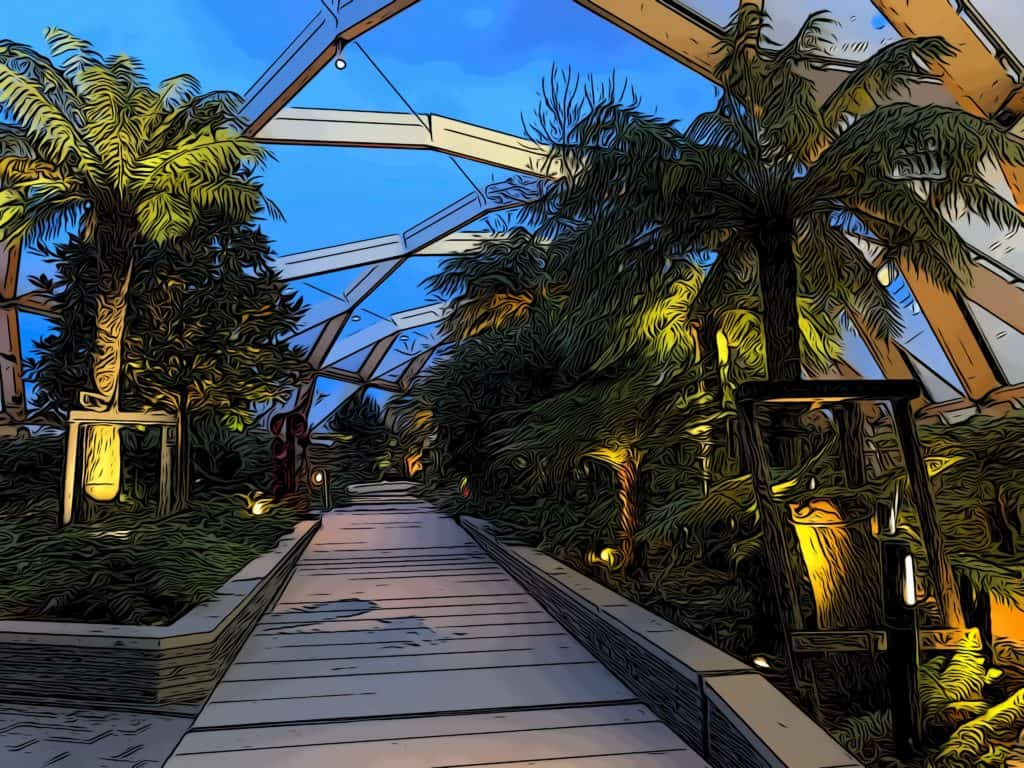 5 free things to do in Canary Wharf crossrail roof garden