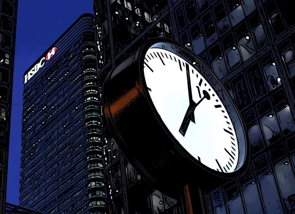 5 free things to do in Canary Wharf reuters plaza clocks
