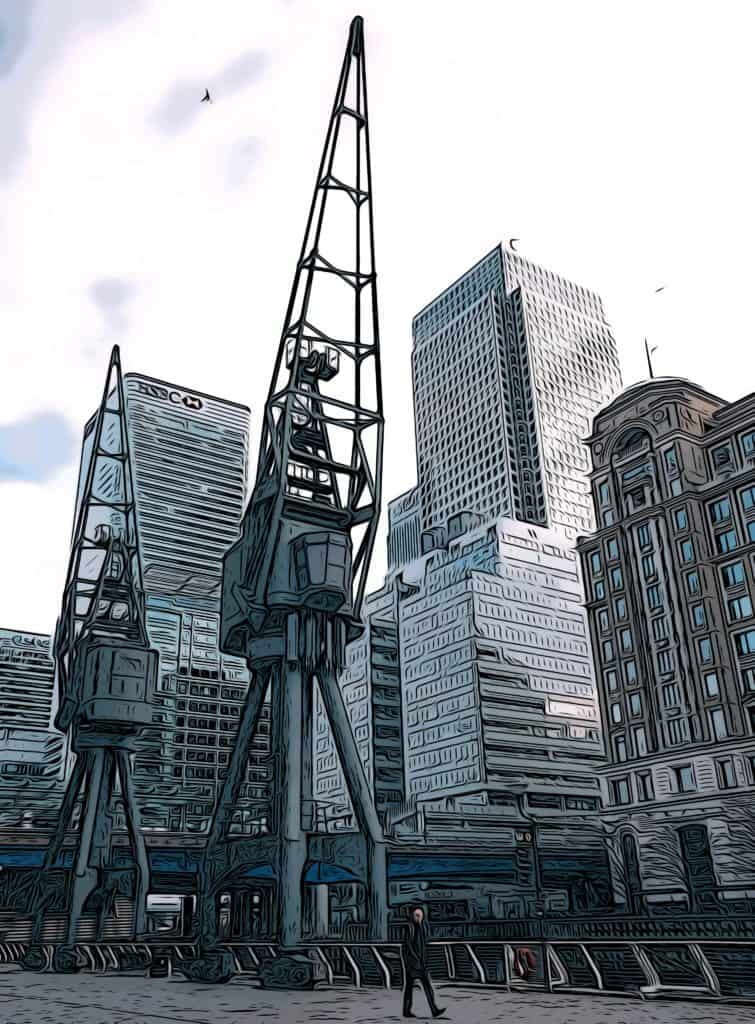 5 free things to do in Canary Wharf london docklands museum
