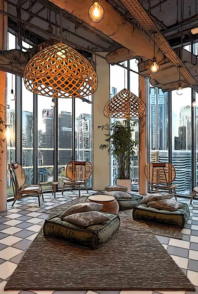 the-collective-canary-wharf-lounge-area