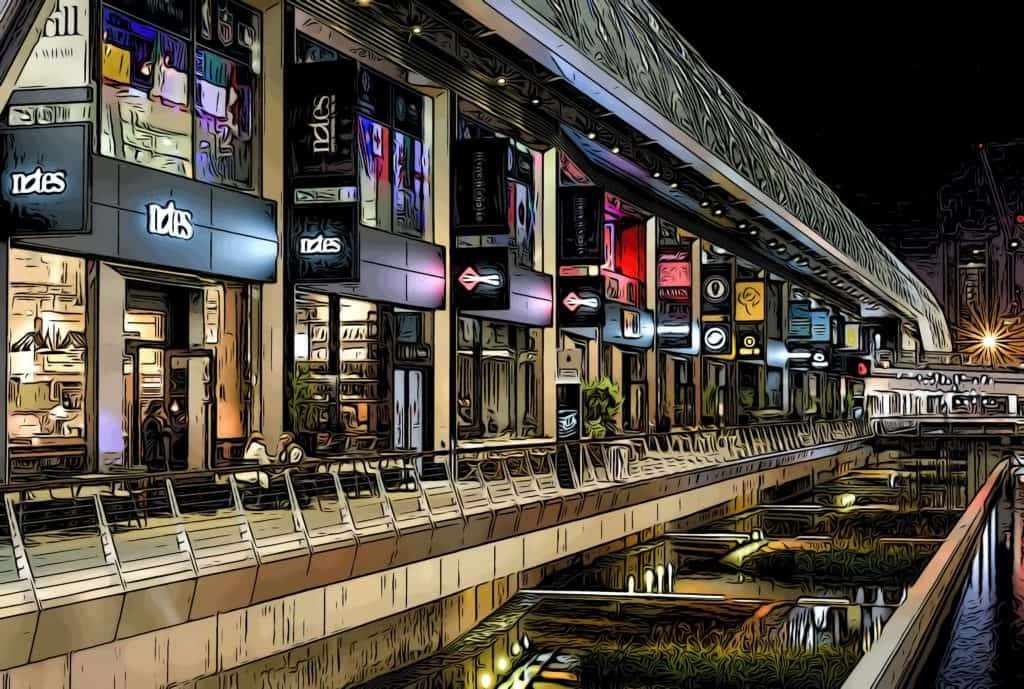 crossrail-place-restaurants-night