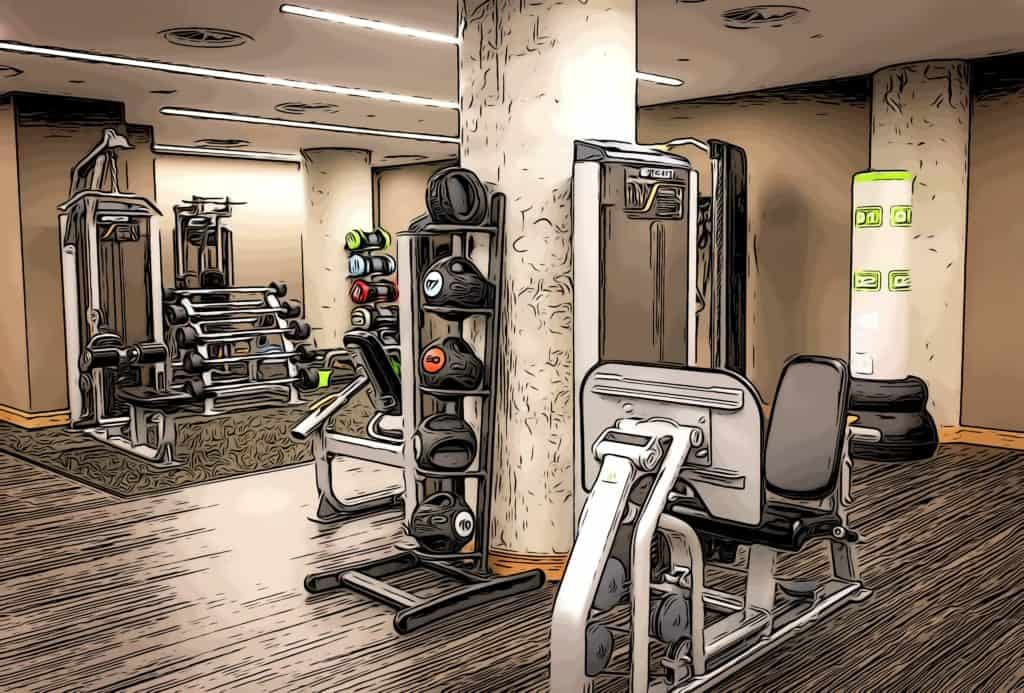 polished-concrete-gym-at-lincoln-plaza