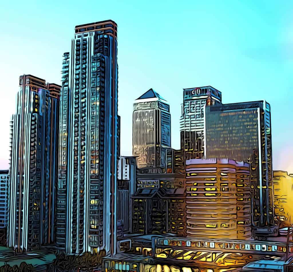 pan-peninsula-ballymore-canary-wharf-skyline
