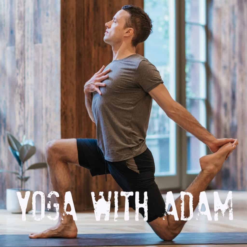 Canary Wharf Yoga with adam hocke