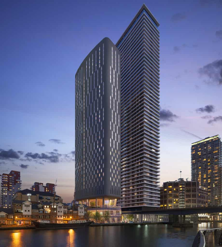 quay house canary wharf 2020 approved plans