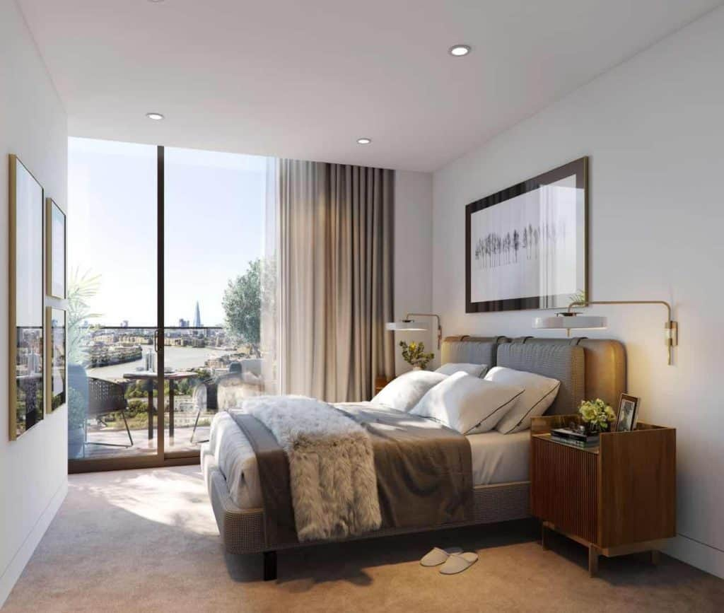 vetro london apartments with views across central london